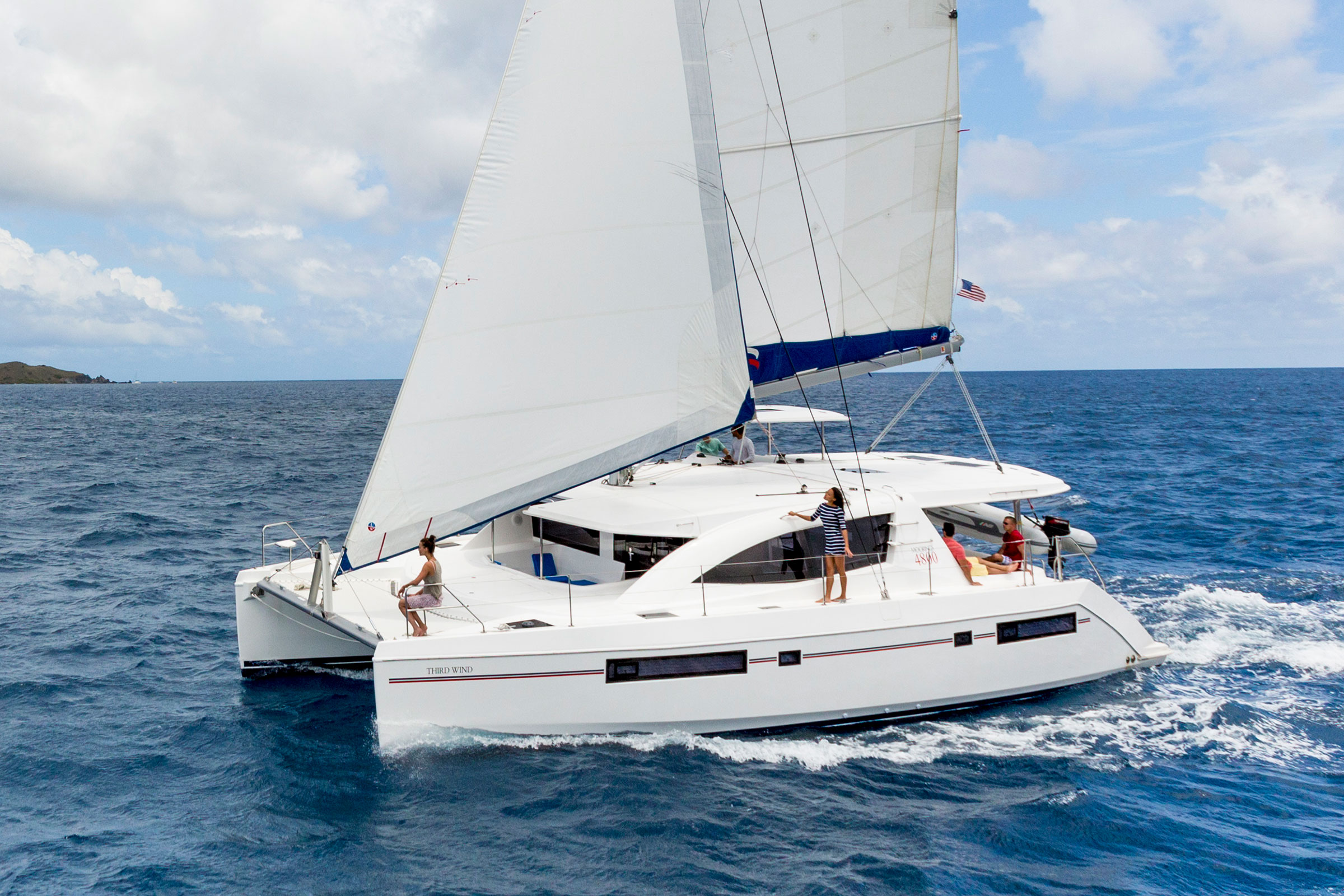 Moorings 4800 - 4 Cabin Catamaran | The Moorings