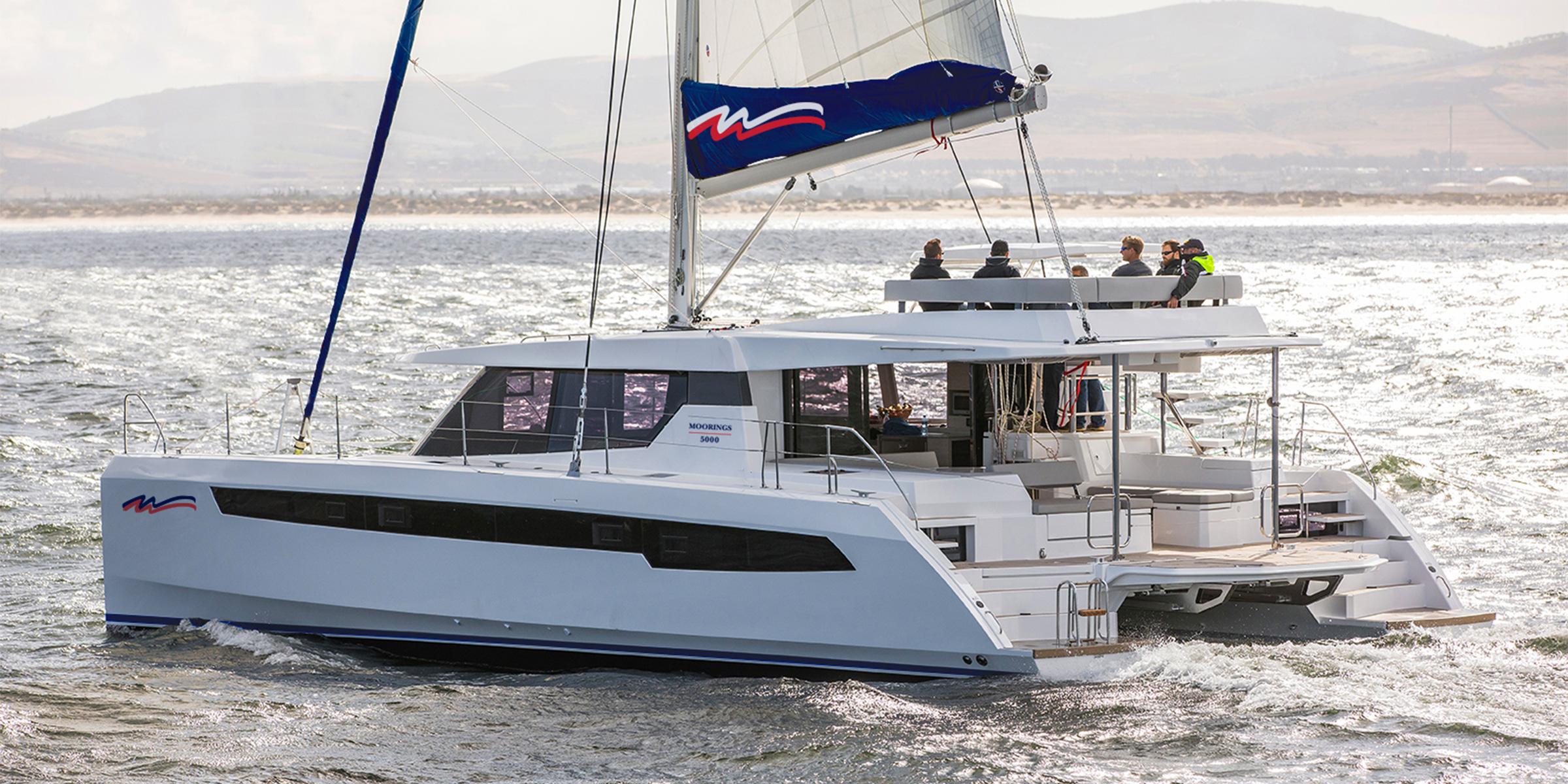 Moorings 5000 - 5 Cabin Catamaran | The Moorings