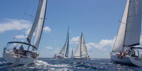 Moorings yachts sailing