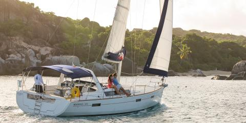 skippered charter on monohull in the BVI