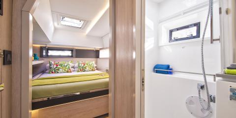 Moorings 4500 cabin