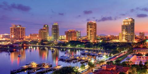 Downtown St. Petersburg Florida - Image credit: Visit St. Pete Clearwater