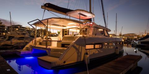 Moorings yacht exterior