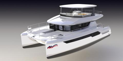 Exterior of Moorings 534pc Catamaran