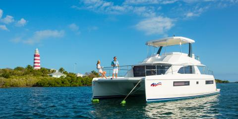 Moorings power catamaran sailing Bahamas