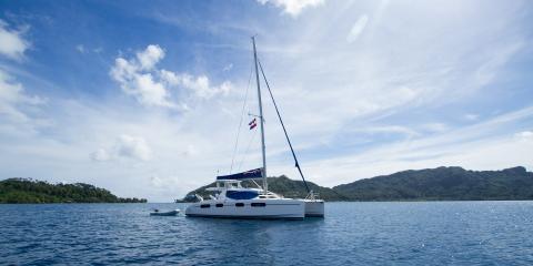 Sail catamaran Tahiti