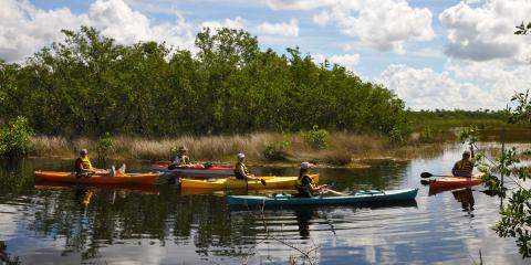 Kayaking Florida - Image credit: Naples, Marco Island and Everglades CVB