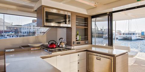The Moorings 53 Powercatamaran Kitchen Interior