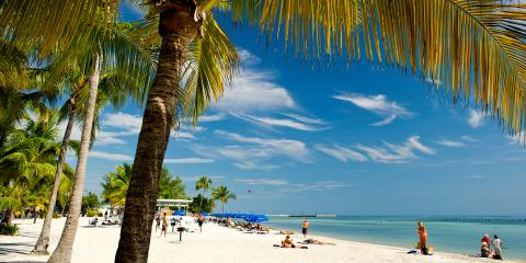 Florida beach Key West
