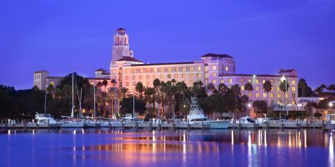 Vinoy Hotel and Marina St. Petersburg Florida