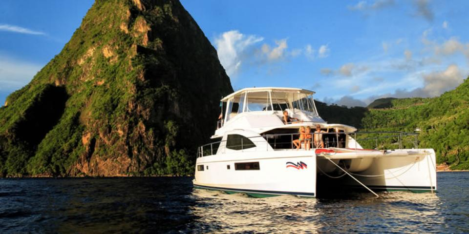 Power Yacht Charters in St. Lucia