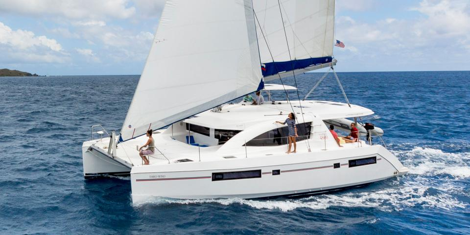 Sailing Catamarans for Charter...