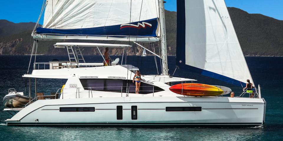 Moorings Crewed 5800 Legacy   6 Cabin Catamaran. Crewed Yacht Charters   All Inclusive Yacht Vacations   The Moorings