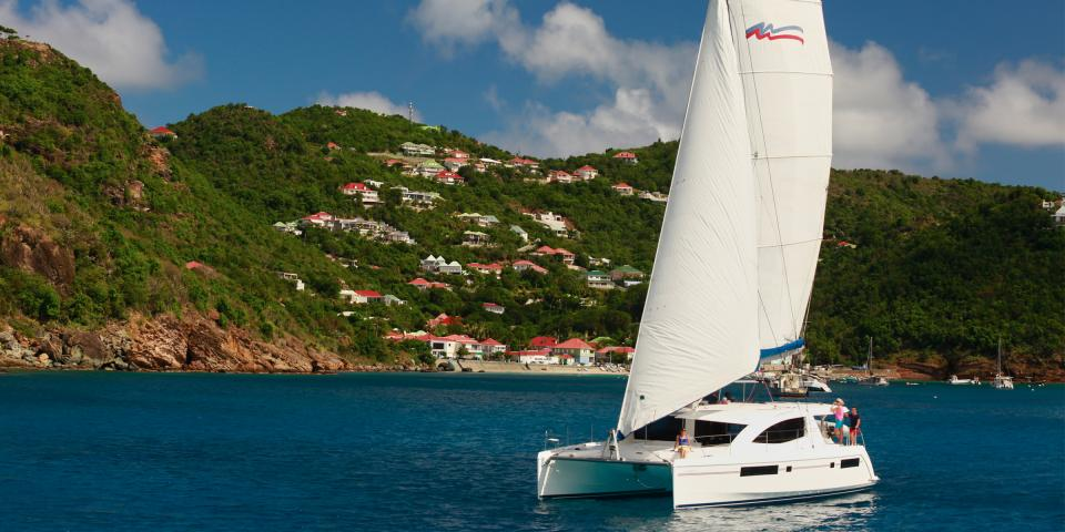 Sailing Catamaran St. Martin