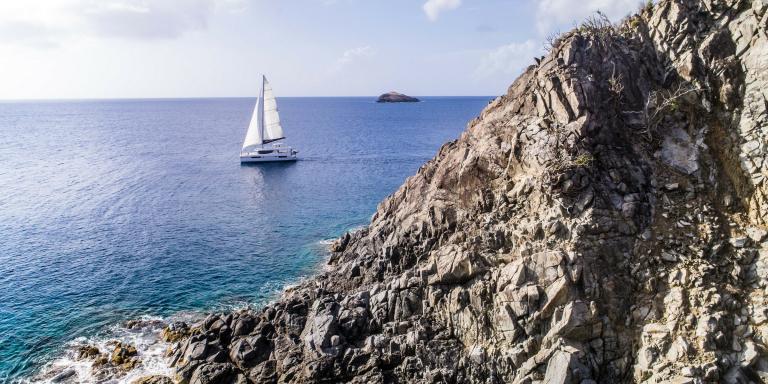 The Moorings BVI sail