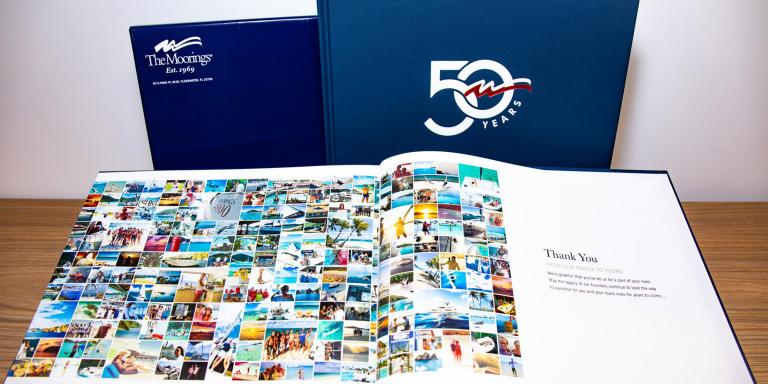 The Moorings 50th Anniversary Book