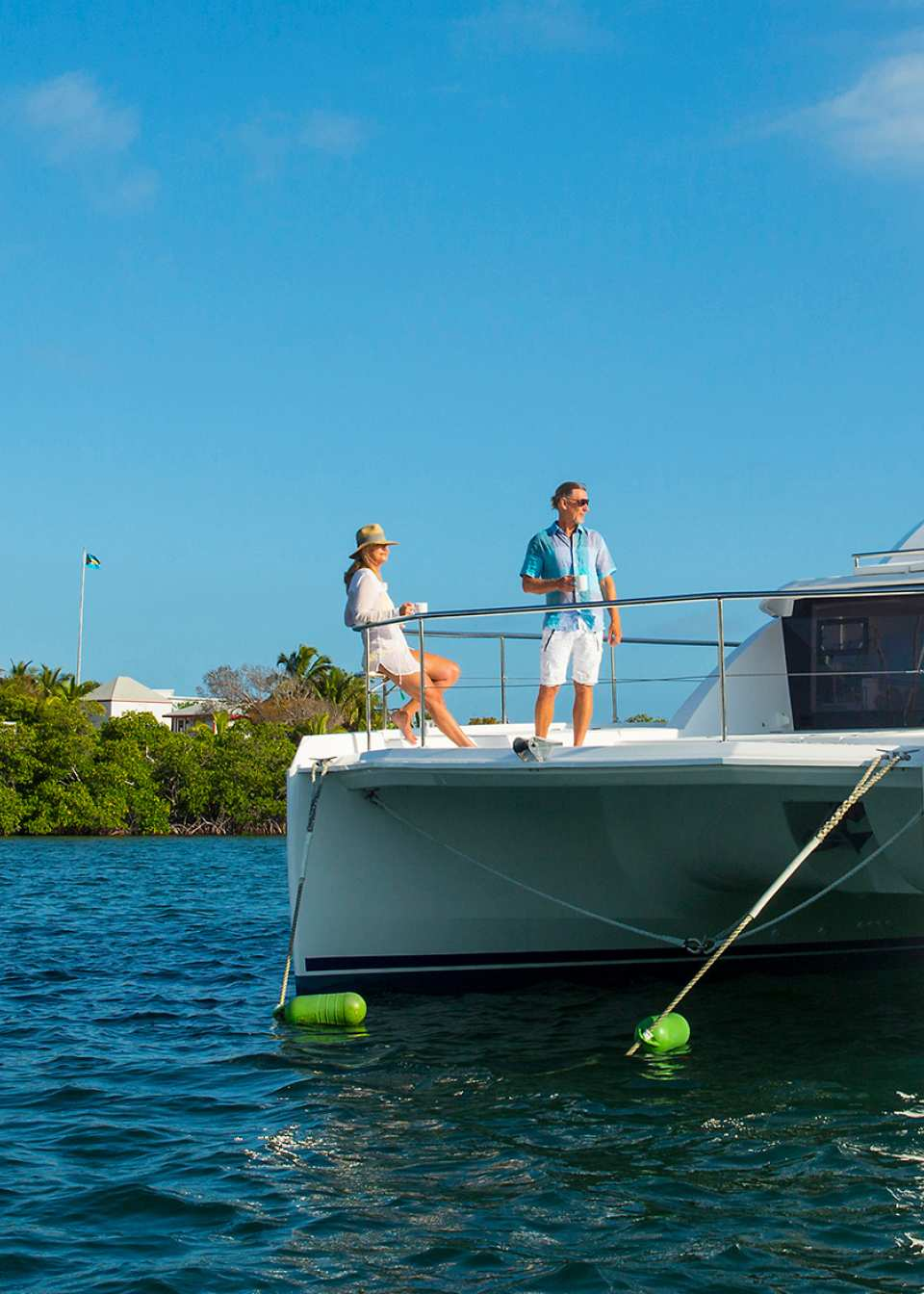 Power yacht vacations charter a power catamaran the for By the cabin catamaran charters