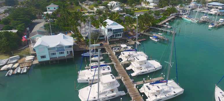 Moorings Base and Conch Inn in the Abacos Islands, Bahamas
