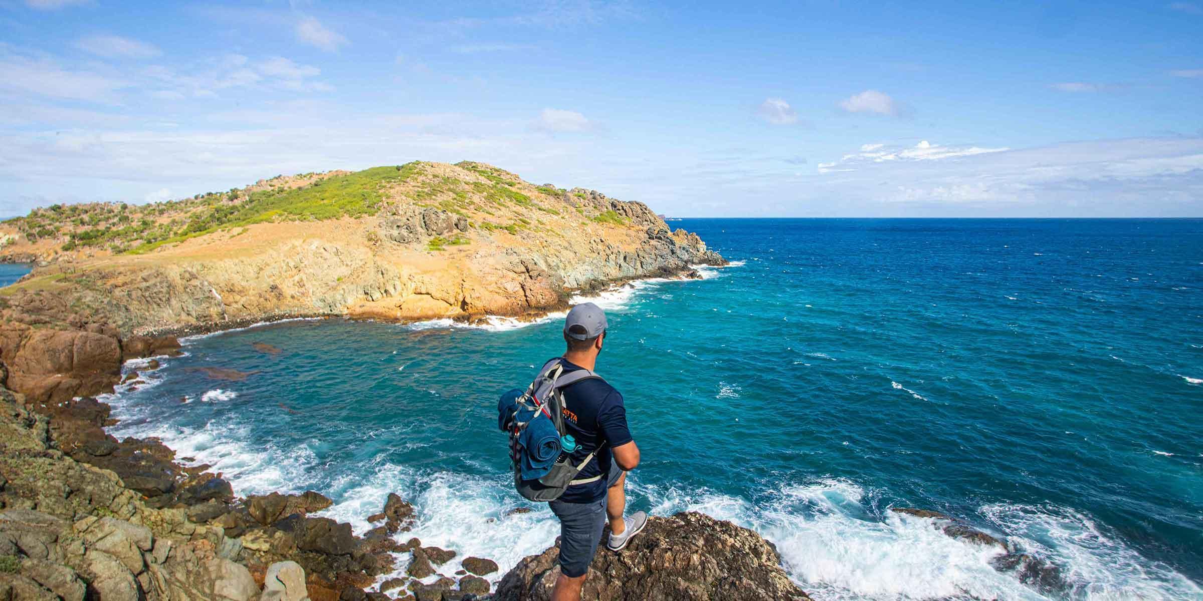 Hiking Trail Anse de Colombier