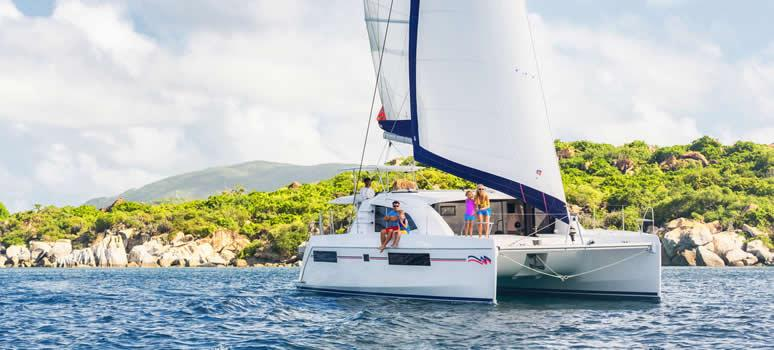 Bareboat Catamaran in the British Virgin Islands