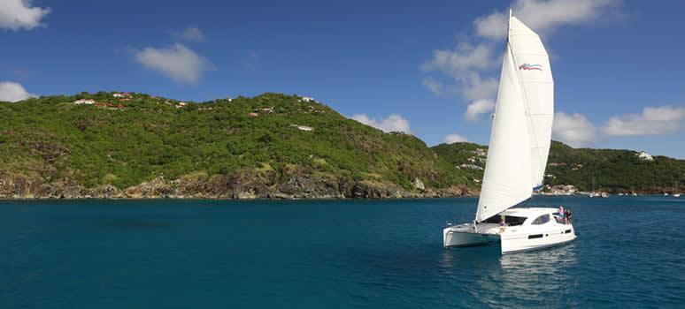 Bareboat Sailing in St. Martin