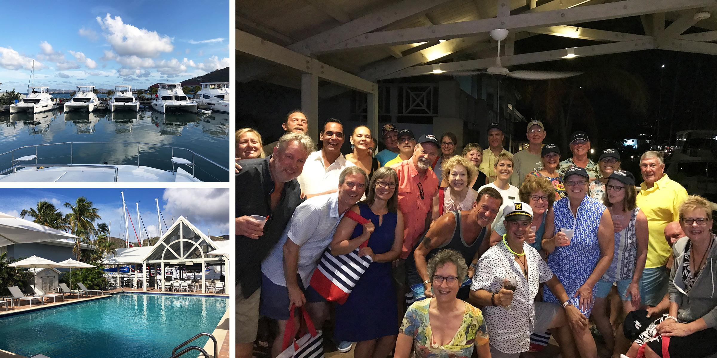 BoatU.S. Flotilla Group 2019 at Tortola Base