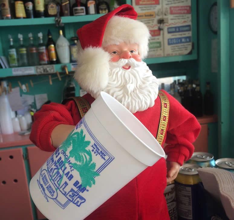 Santa Claus in the British Virgin Islands