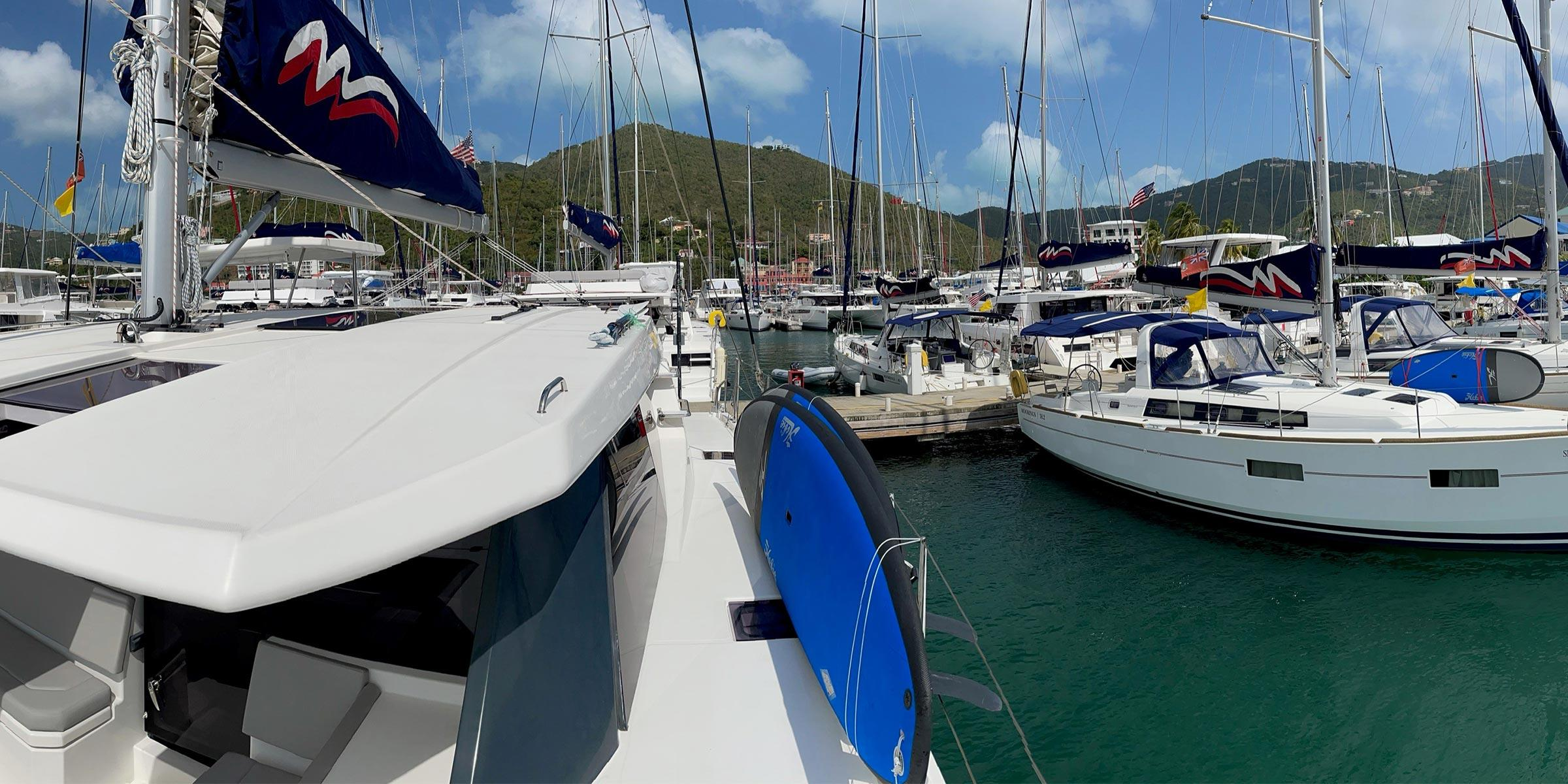 The Moorings base Road Town Tortola BVI