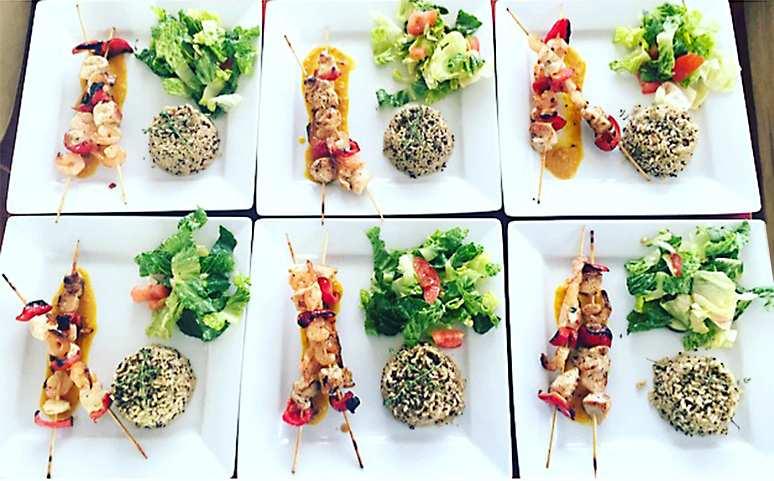 golden chicken kababs