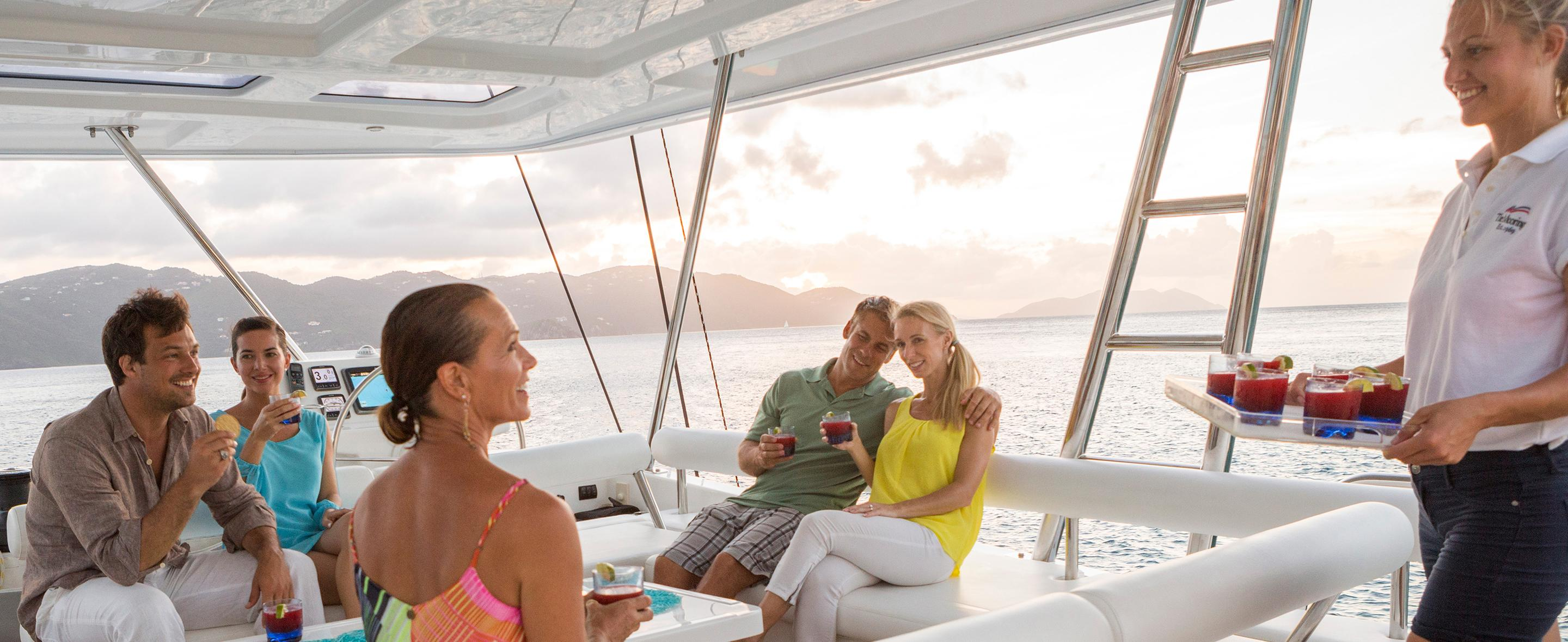 Crewed Yacht Charters - All-Inclusive Yacht Vacations | The