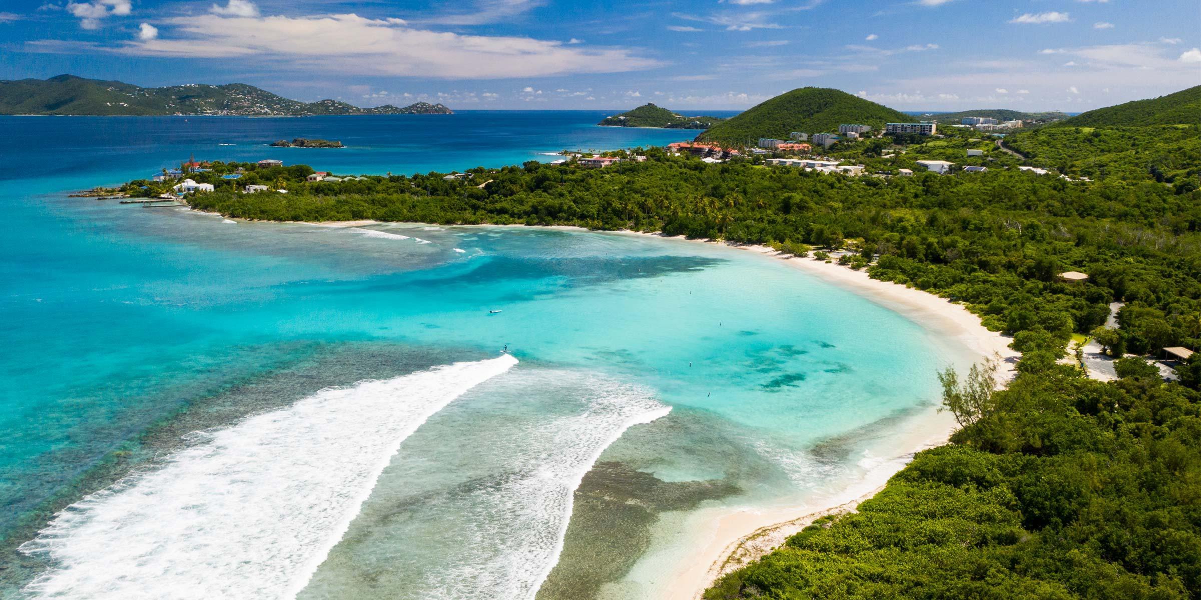 Lindquist Beach on St. Thomas, U.S. Virgin Islands