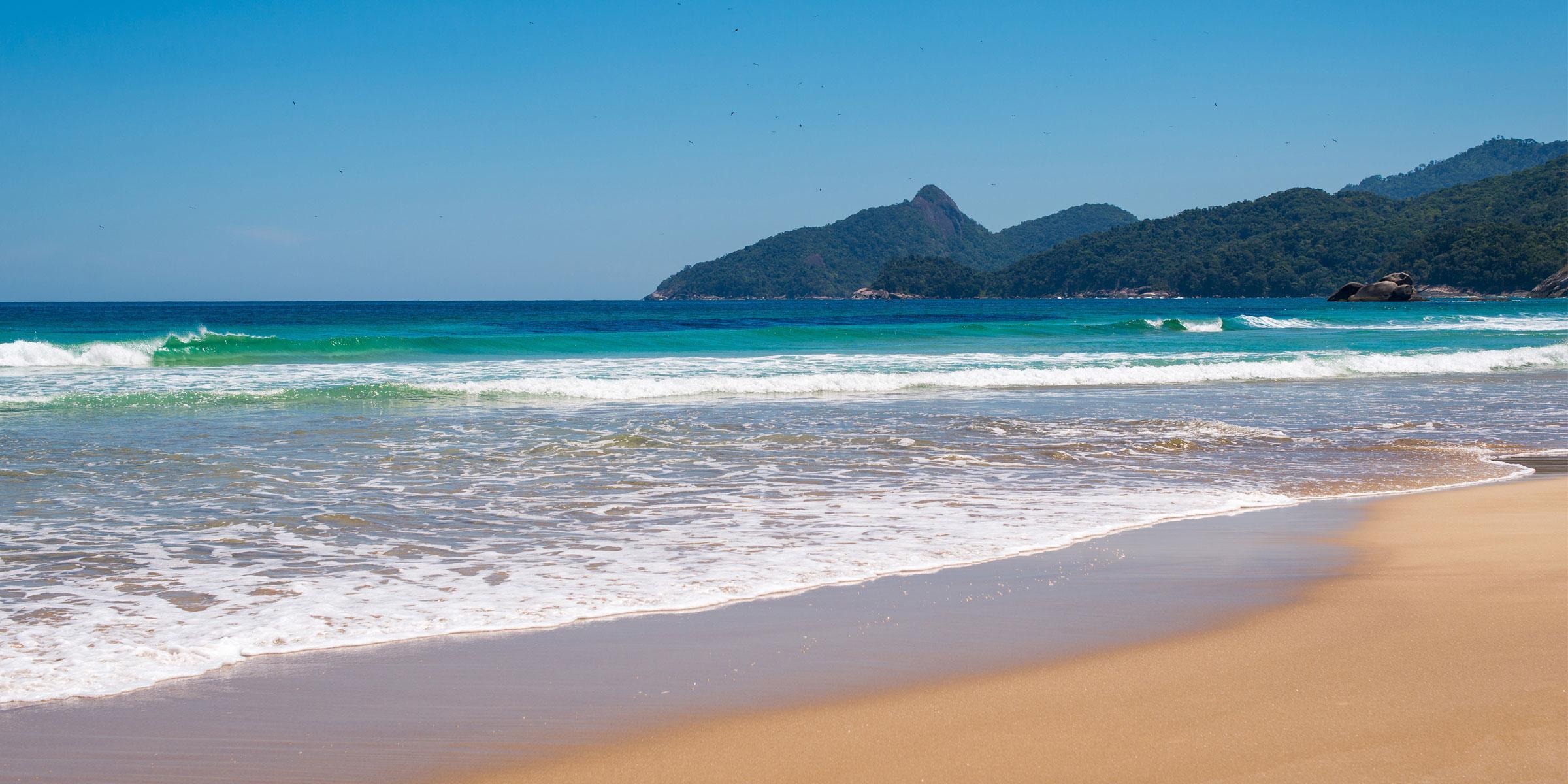 Lopes Mendes Beach Brazil