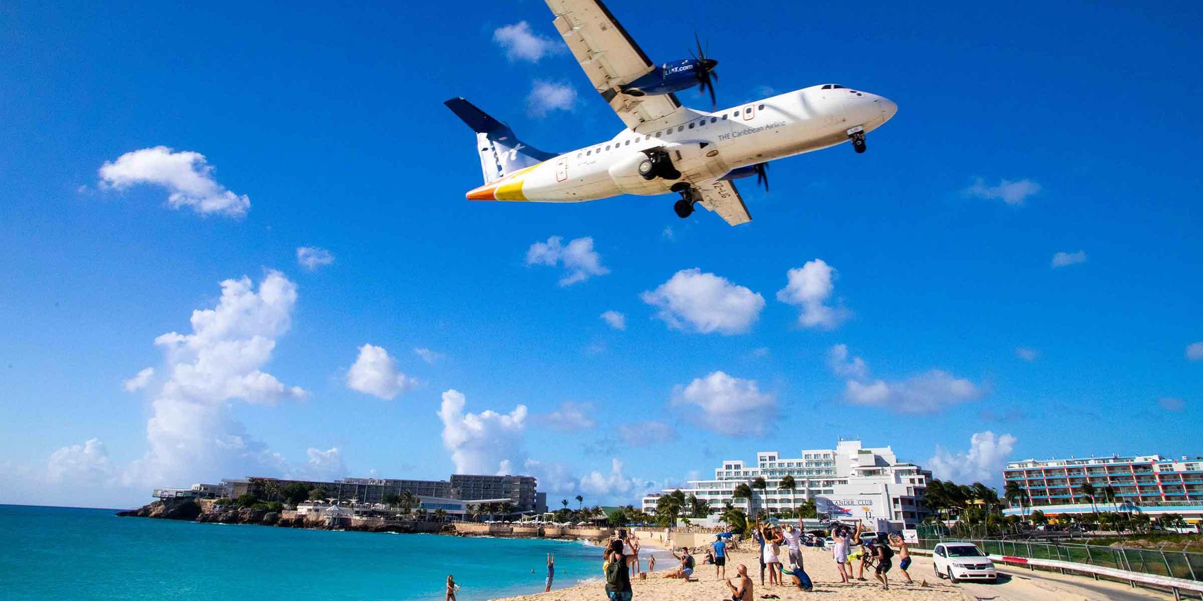 Flyover Experience at Maho Beach