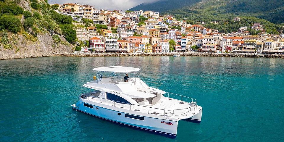Moorings 514 yacht location Mediterranean