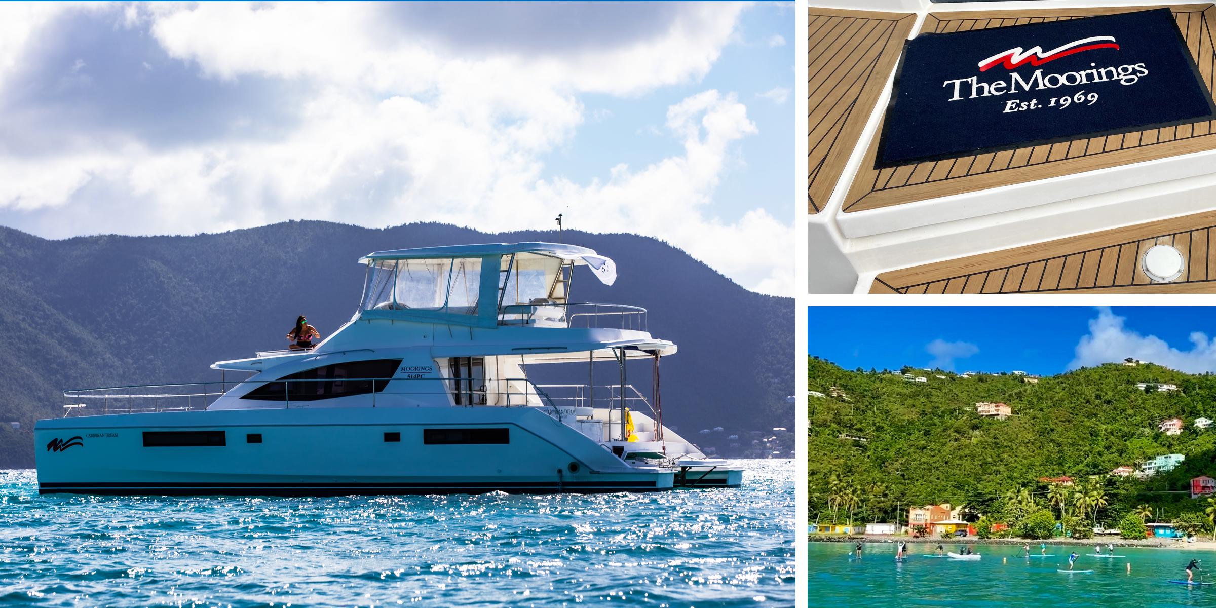 The Moorings 514PC BVI Catamaran Charter