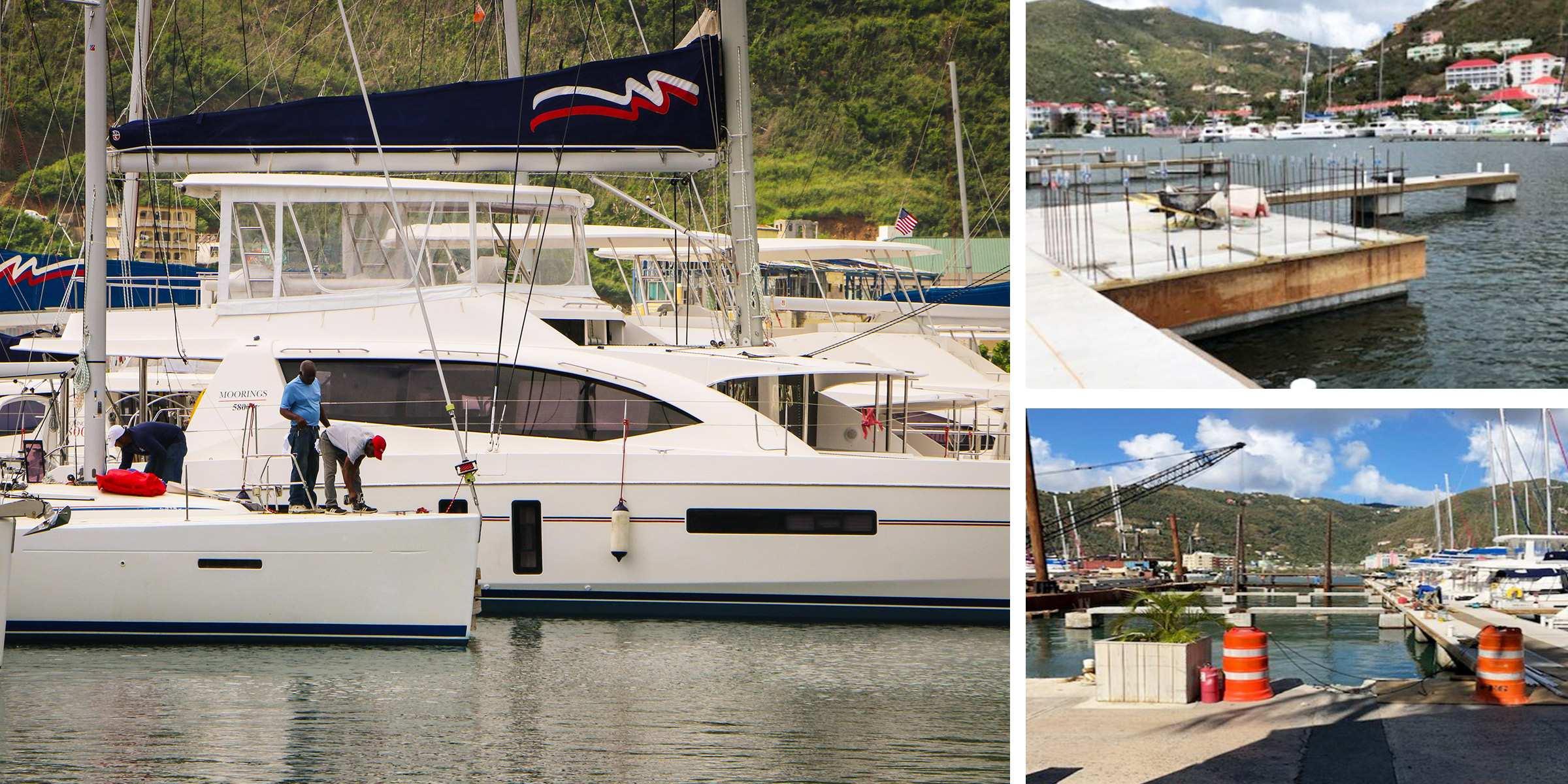 B Dock Repairs Moorings Tortola Base BVI