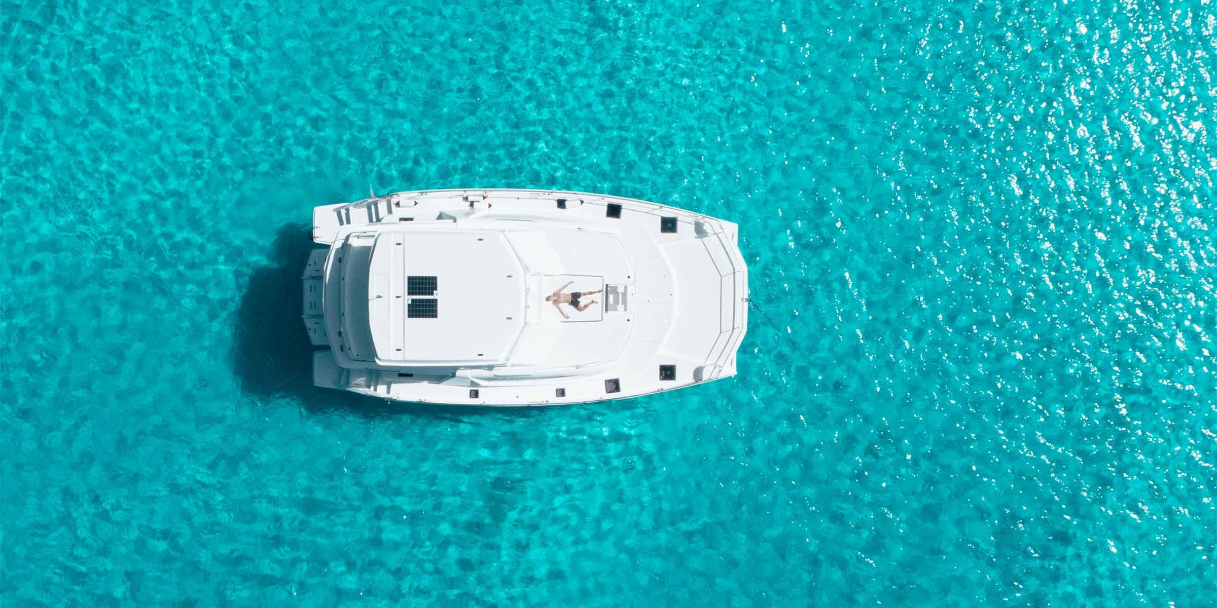 social bubble on a yacht