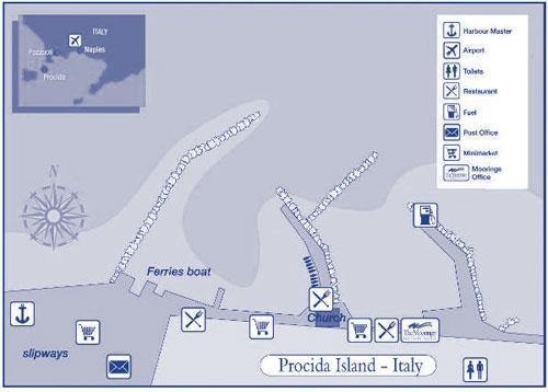 Procida base map