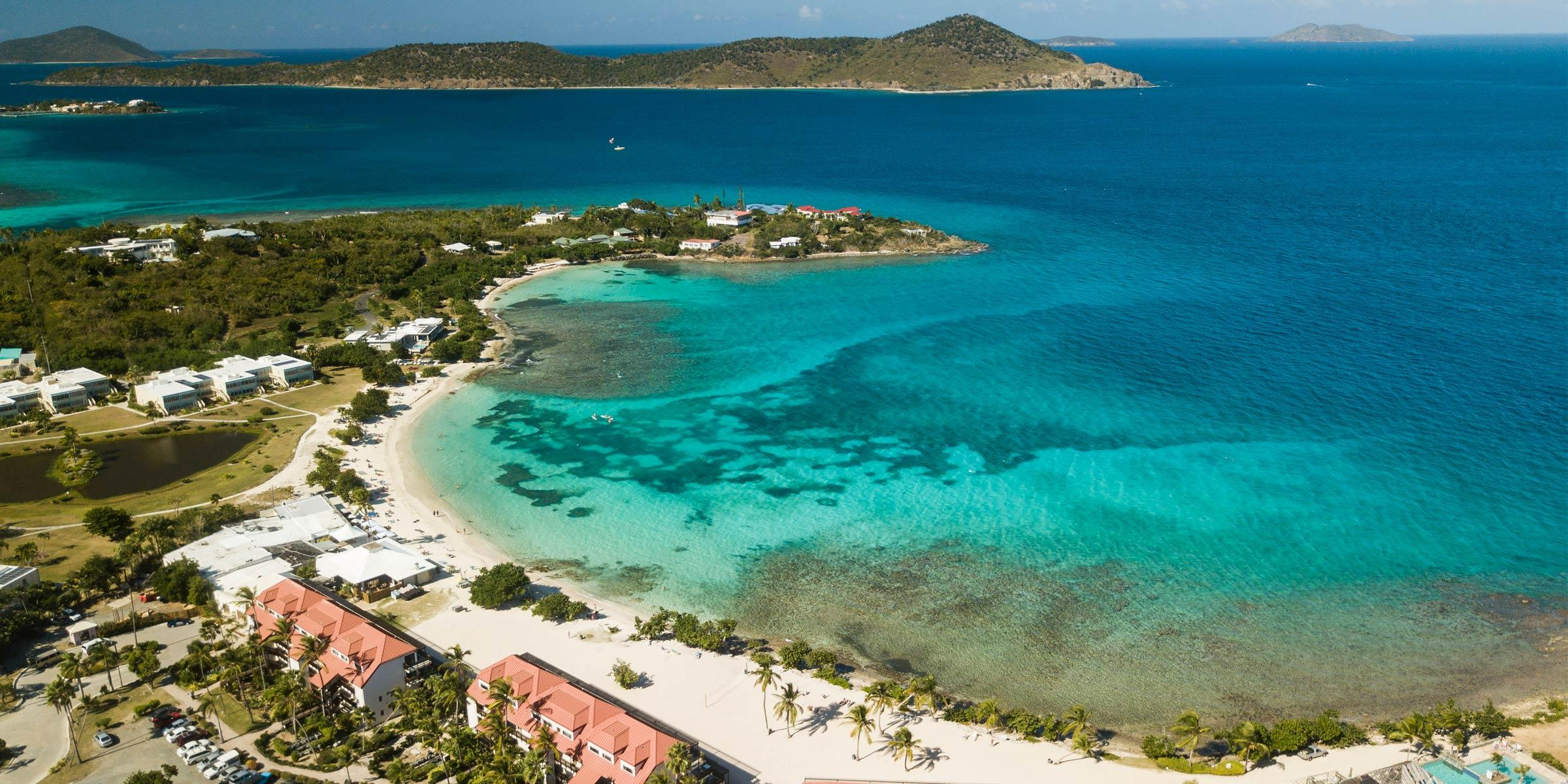 Sapphire Beach on St. Thomas, U.S. Virgin Islands
