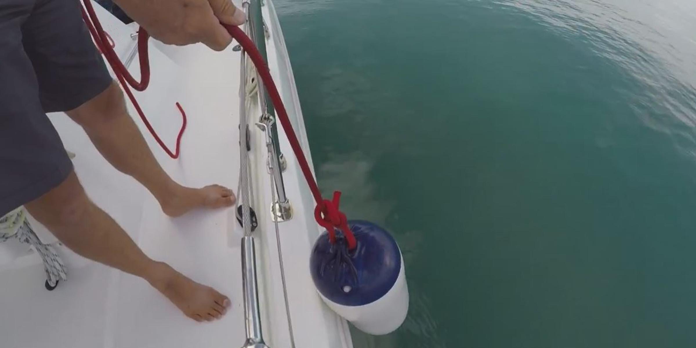 Skipper lowering fender