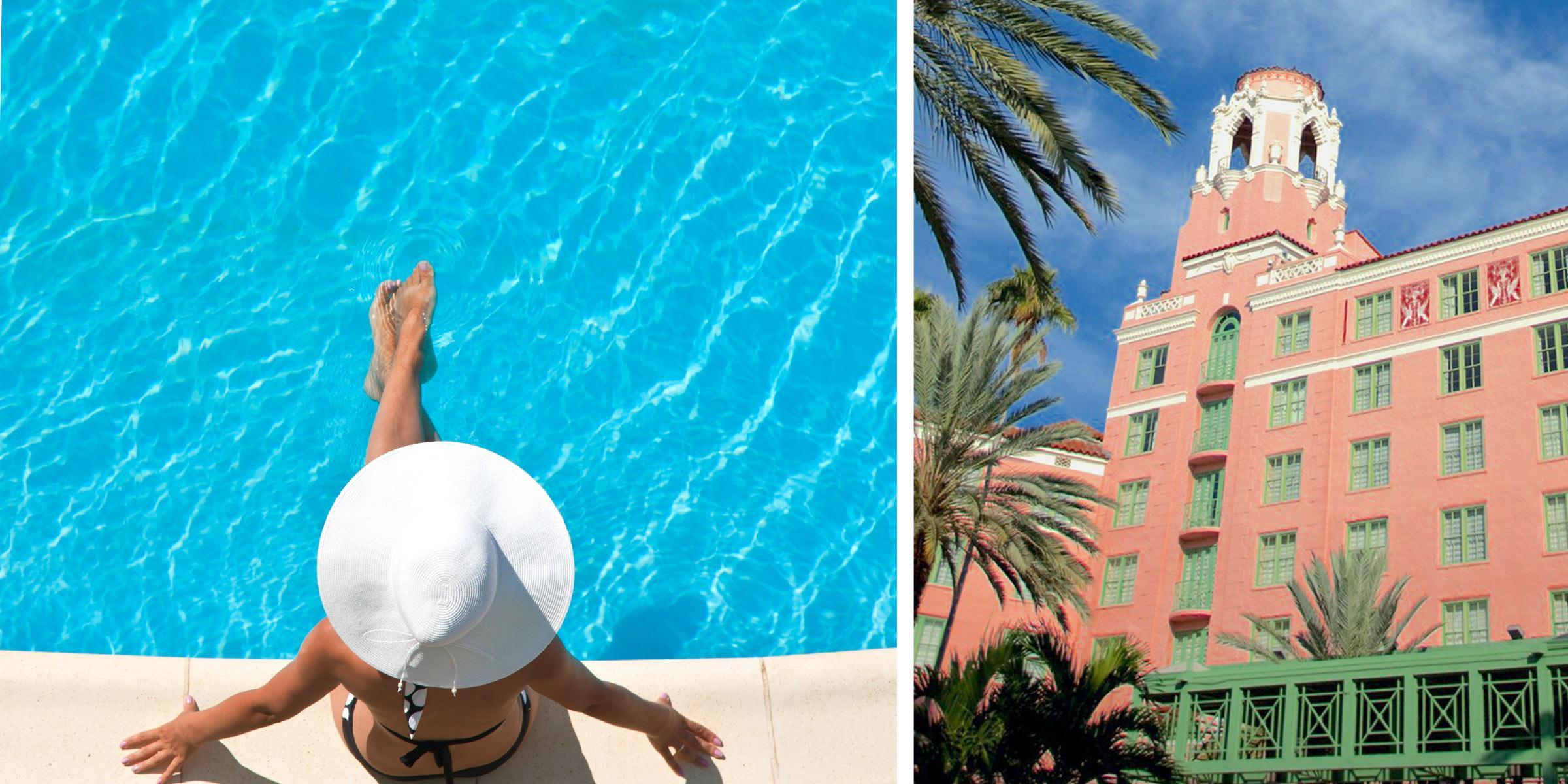 St. Petersburg Hotel Swimming Pool