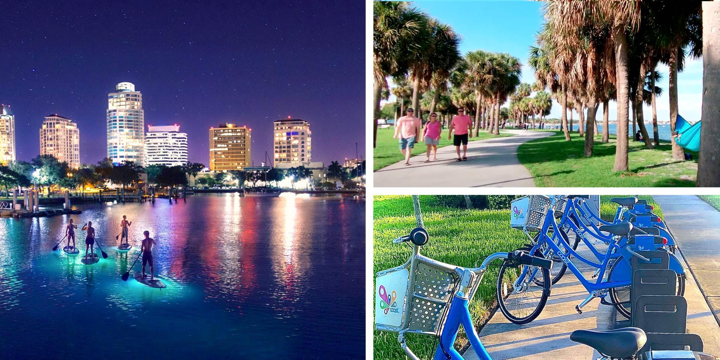 St. Petersburg Outdoor Activities Collage