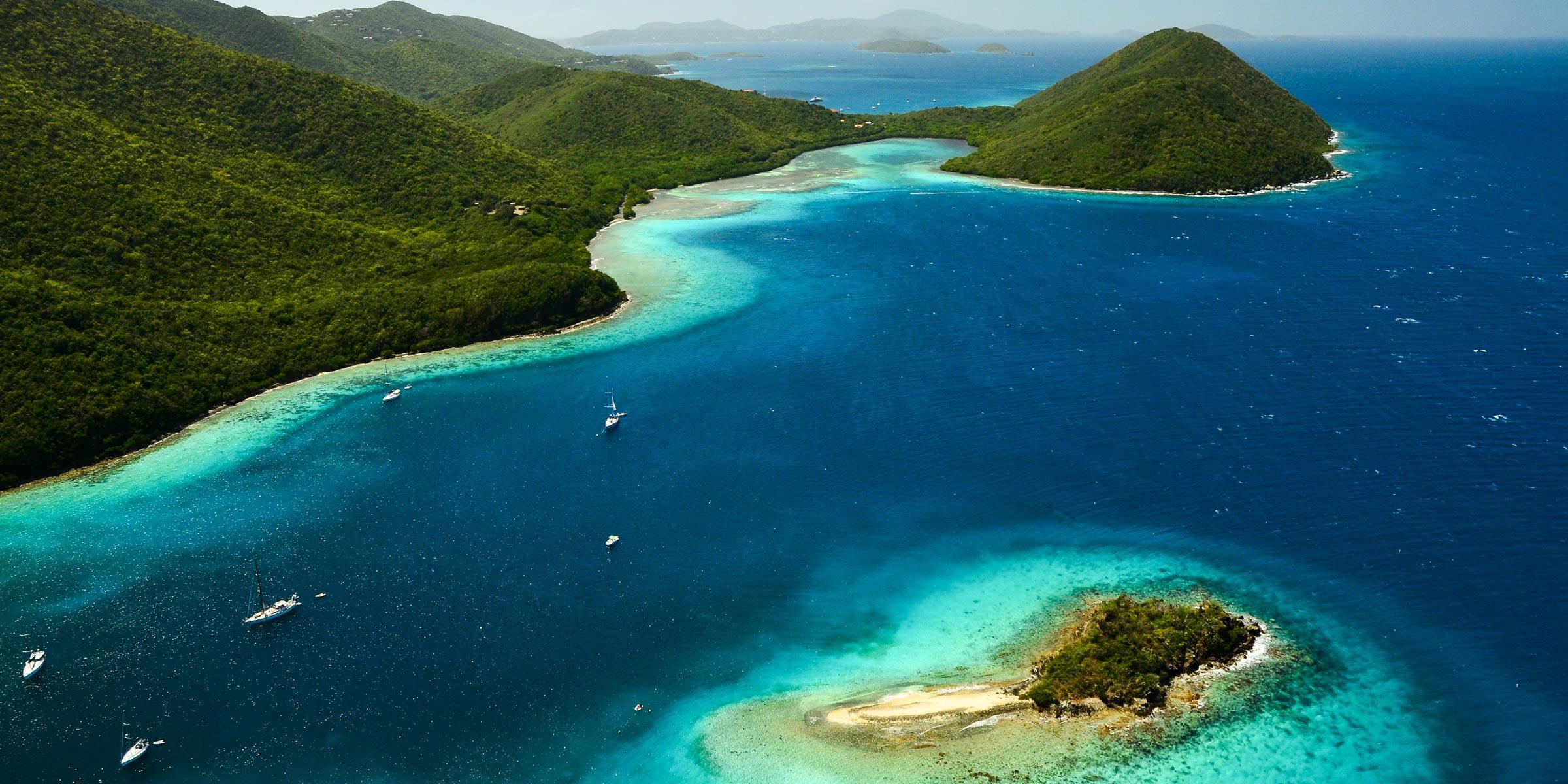 Waterlemon Cay on St. John, U.S. Virgin Islands
