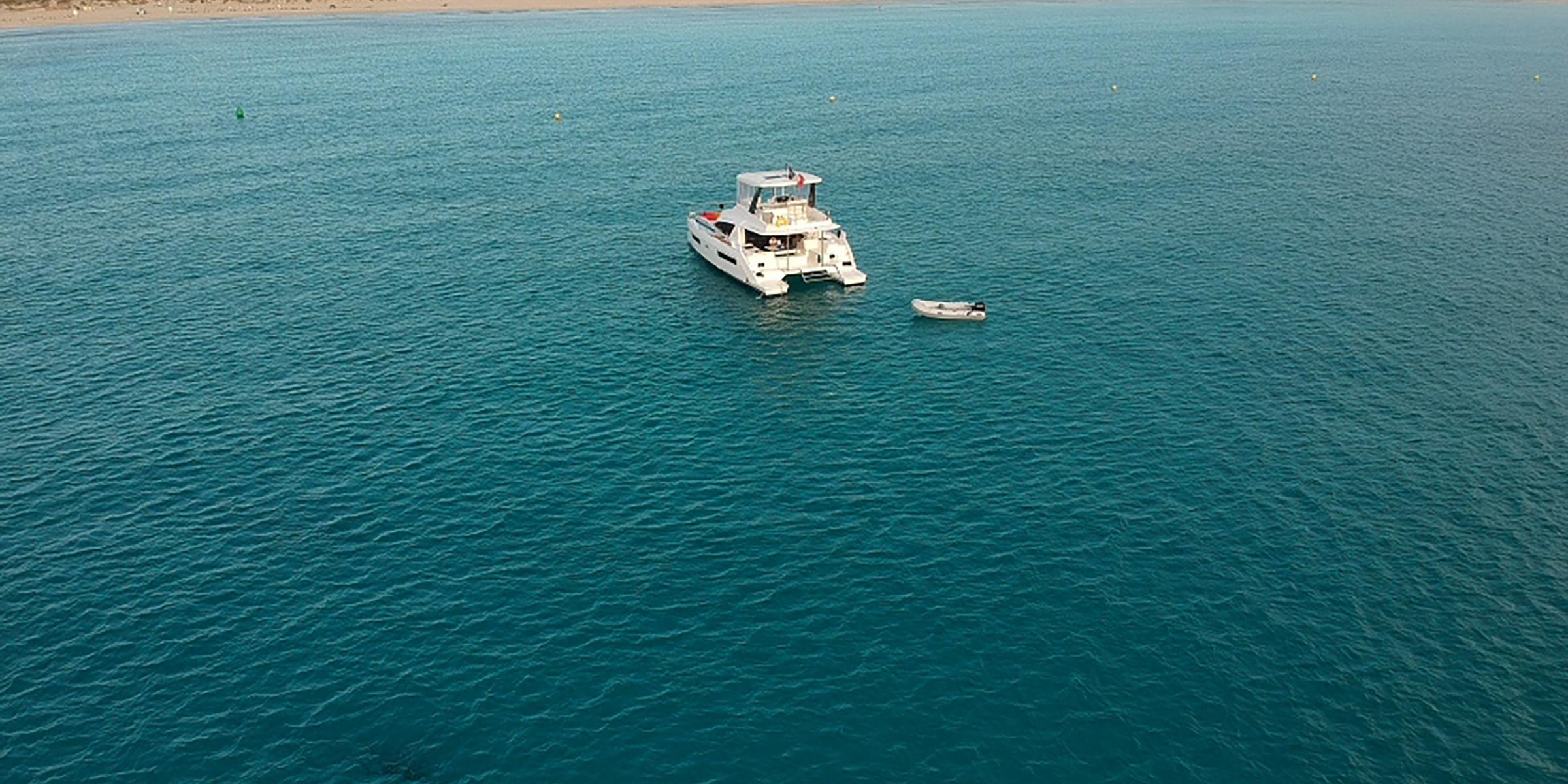 Moorings 514PC in Formentera Palma